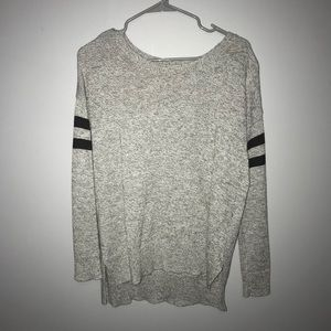 AE grey and black sweater
